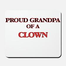 Proud Grandpa of a Clown Mousepad