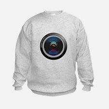 Camera Lens Sweatshirt