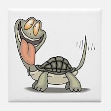Tortoise Eager Tile Coaster