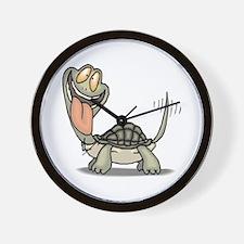 Tortoise Eager Wall Clock