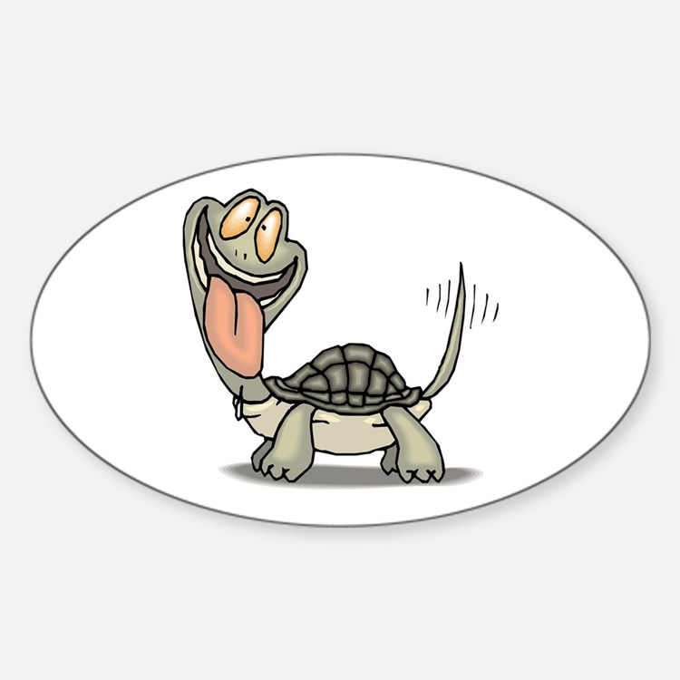 Tortoise Eager Decal