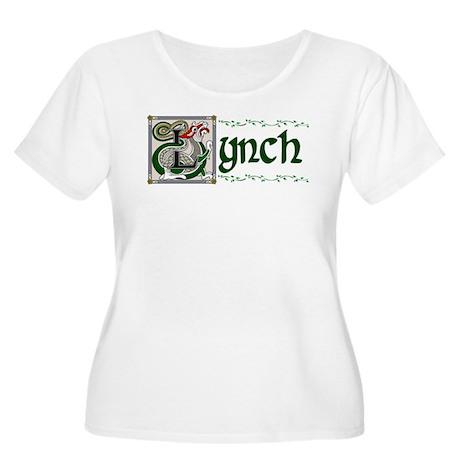 Lynch Celtic Dragon Women's Plus Size Scoop Neck T