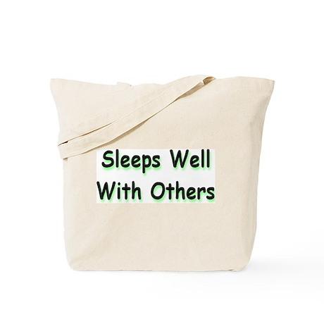 Sleeps Well Tote Bag