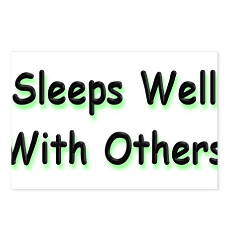 Sleeps Well Postcards (Package of 8)