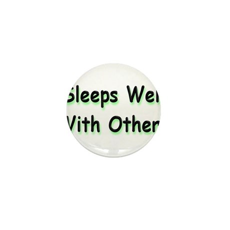 Sleeps Well Mini Button (100 pack)