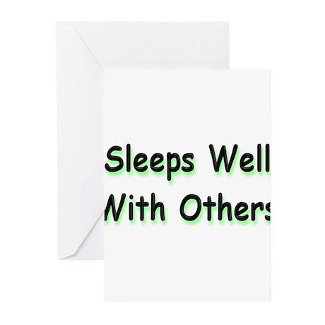 Sleeps Well Greeting Cards (Pk of 20)