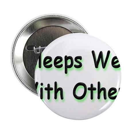 """Sleeps Well 2.25"""" Button (10 pack)"""