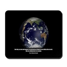 Teilhard - Collaborators in Creation Mousepad