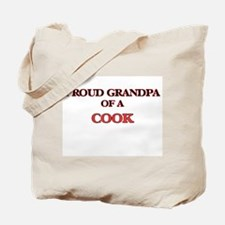 Proud Grandpa of a Cook Tote Bag