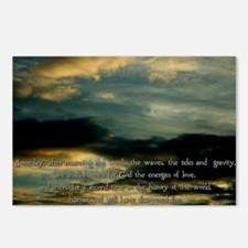 Teilhard de Chardin quote Postcards (Package of 8)
