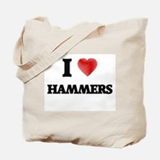 I love Hammers Tote Bag