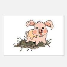 Piglet Postcards (Package of 8)
