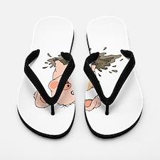 Piglet Flip Flops