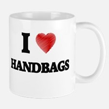 I love Handbags Mugs