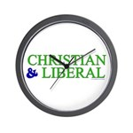 Christian and Liberal Wall Clock