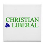 Christian and Liberal Tile Coaster