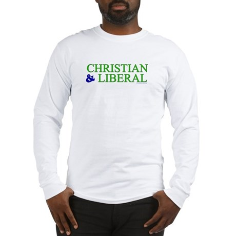 Christian and Liberal Long Sleeve T-Shirt