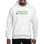 Christian and Liberal Hooded Sweatshirt