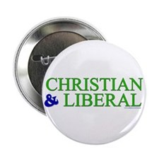 "Christian and Liberal 2.25"" Button (10 pack)"