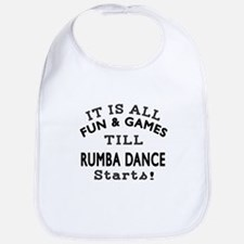 Rumba Dance Designs Bib