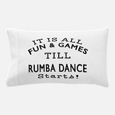 Rumba Dance Designs Pillow Case