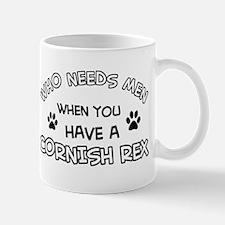 Cornish Rex Cat Designs Mug