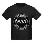 Forks, WA 98331 Kids Dark T-Shirt