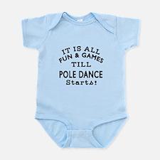 Pole dancing Dance Designs Infant Bodysuit