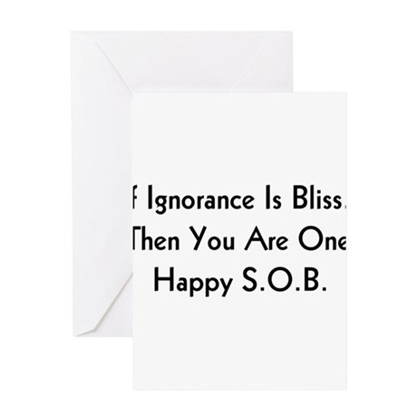 S.O.B. Greeting Card