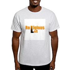 Religious Left Ash Grey T-Shirt
