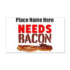 Needs Bacon Wall Decal