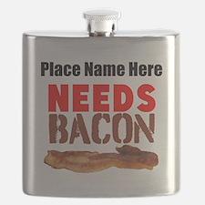Needs Bacon Flask