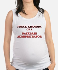 Proud Grandpa of a Database Adm Maternity Tank Top