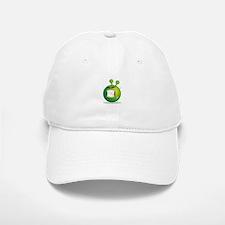 Smiley green alien huf Baseball Baseball Cap