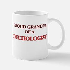 Proud Grandpa of a Deltiologist Mugs