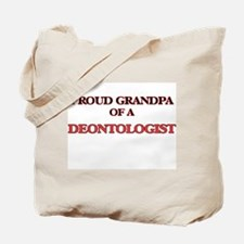 Proud Grandpa of a Deontologist Tote Bag