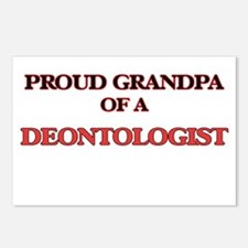 Proud Grandpa of a Deonto Postcards (Package of 8)