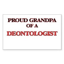Proud Grandpa of a Deontologist Decal