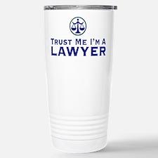Cute Trust me lawyer Travel Mug