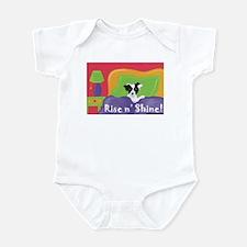 Rise and Shine Black Jack Infant Bodysuit