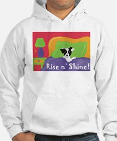 Rise and Shine Black Jack Hoodie