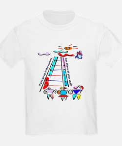 If you go up in the rapture Kids T-Shirt