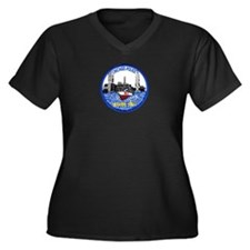Chicago PD Marine Unit Women's Plus Size V-Neck Da
