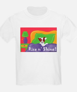 Rise and Shine Brown Jack Russell Terrier T-Shirt