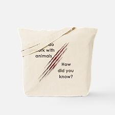Funny Veterinary nurse Tote Bag