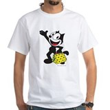 Felix the cat Mens White T-shirts
