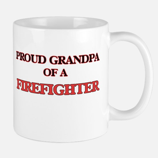 Proud Grandpa of a Firefighter Mugs