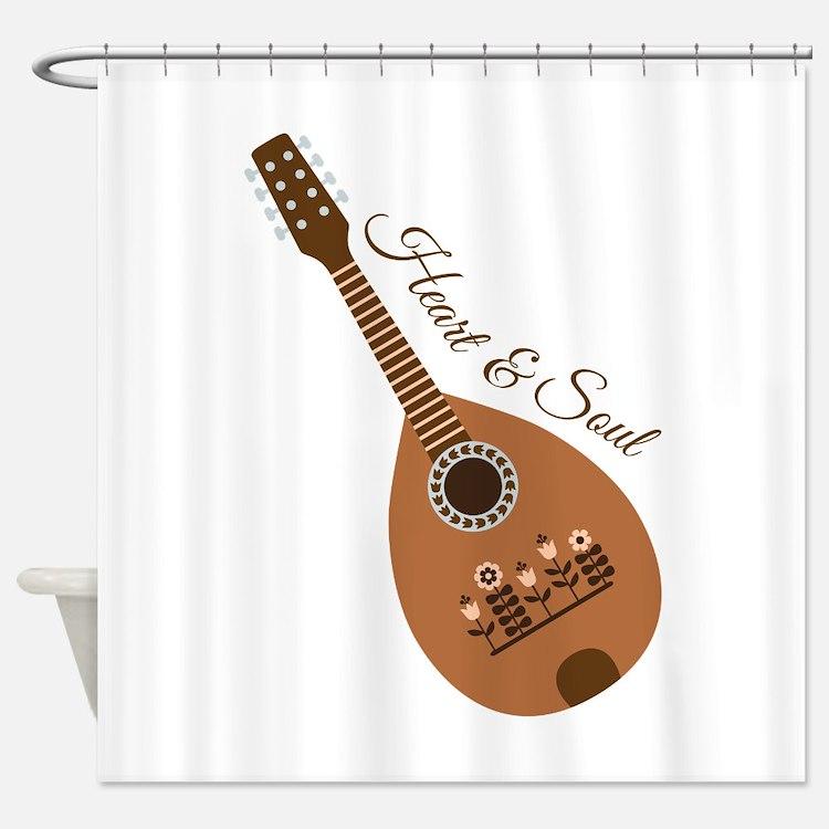 Heart & Soul Shower Curtain