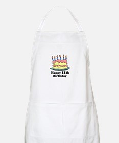 Happy 11th Birthday BBQ Apron