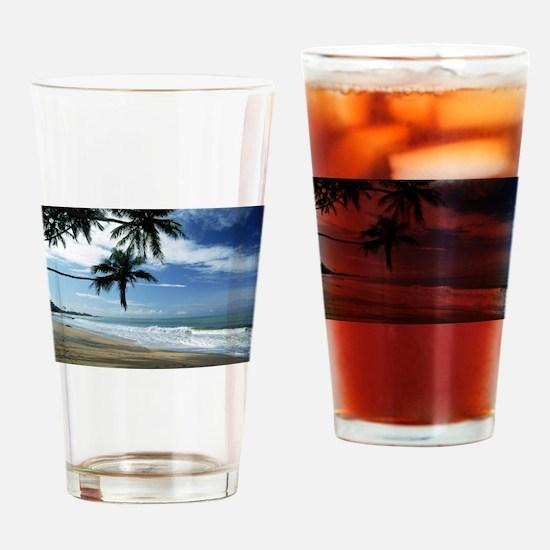 Unique Puerto rico beach Drinking Glass